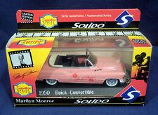 Solido Die Cast 1:43 Signature Series MiB 1950 Buick Convertible Marilyn Monroe