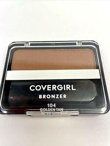 COVERGIRL Cheekers Blendable Powder Bronzer Golden Tan #104 New & Sealedr