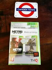 💥Metro 2033 / Darksiders Xbox 360 Sigillato Edizione Italiana No Import