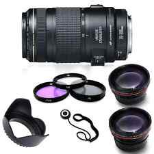 Canon EF 70-300mm f/4-5.6 IS USM Lens for Canon EOS SLR Cameras + Accessory Kit