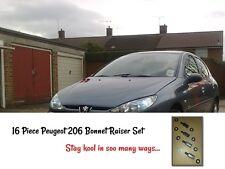 16 pièces Peugeot 206 CC GTI Bonnet Raisers Lifters drift course