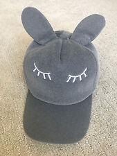 Womens cute bunny rabbit ear cap hat kawaii edgy fashion trend cool harajuku