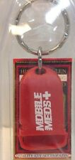 New Red U.S Made Keychain MOBILE MEDS~PILL BOX Porte-Cle BOITE A MEDICAMENTS~NWT