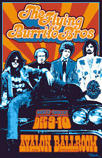 Flying Burrito Brothers Concert Poster