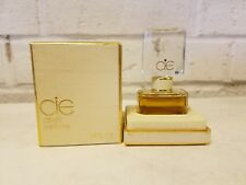 Vintage CIE Collectible Mini Perfume Bottle and Box 1/4 fl oz / 7 ml