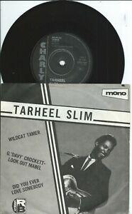 Tarheel Slim:Wildcat tamer:G 'Davy Crocket'-2 tracks:UK Charly:Northern Soul