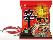 Nongshim goumet piccante Shin del Ramyun ramen zuppa Noodles Istantanei 120g x confezione da 4