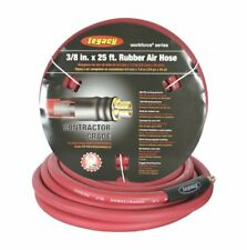 Legacy Manufacturing LEG-HRE3825RD2 Workforce Air Hose, 3/8 In. X 25 Ft., 1/4