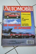 L'Automobile 497-87-Peugeot 309 GTi-Mazda 323 Turbo-Citroën AX GT-AX production