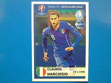 Panini UEFA Road to EURO 2016 France n.170 Marchisio Italia