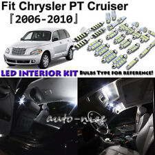 8x White LED Interior Lights Package Kit For 2006 - 2010 Chrysler PT Cruiser