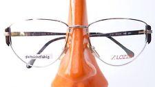 Brillen Gestell silber gold ausgefallen große Gläser Vintage Damen Handmade Gr M