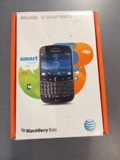 NEW BlackBerry Bold 9900 8gb Black (AT&T) Smartphone Touchscreen GSM. Brand New.