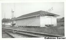 Texas & Pacific Railway New Roads Louisiana structure 1975 B&W Photo (1959)