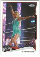 2014 TOPPS CHROME WWE # 48 SUMMER RAE REFRACTOR