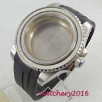 40mm sapphire glass sub Watch Case fit ETA 2824 2836 miyota 8215 MOVEMENT