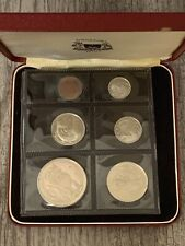 1968 Singapore Proof Set - 6 Coin Sealed Proof with Box - Rare