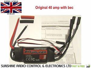 RC ESC Hobbywing Skywalker 40 Amp Brushless Speed Controller BEC Planes 40AMP UK