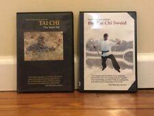 Tai Chi Short Set/Sword (2) Dvd Set chuan form yang style chinese applications