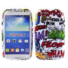 Schutzhülle f Samsung Galaxy Young 2 Tasche Case Cover TPU Comic Smileys