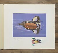 RW45 1978 - US Federal Duck Stamp Print **ALBERT EARL GILBERT** REMARQUE #7