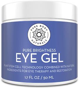Pure Body Naturals Age-Defying Eye Gel, 1.7 Fluid Ounces