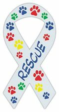 Ribbon Shaped Magnets: Rescue (Dogs, Cats, Pets) | Fun Theme! | Cars, Trucks