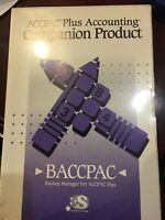 ACCPAC Plus Accounting Companion Product BACCPAC Shrink Wrapped