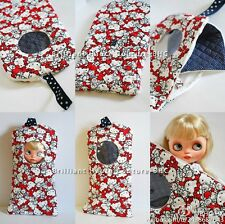 BHC Doll Outgoing Bag for Kenner Blythe doll - dress /outfit - Hello Kitty