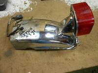 kawasaki kz750ltd kz750h rear back fender tail light lamp 1981 1982 83 kz650csr