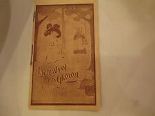 "Antique Faultless Starch Booklet ""The Trials of Mrs. Graycoat"" Vol 2, 15 pages"