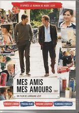 DVD ZONE 2--MES AMIS MES AMOURS--LEVY/LINDON/ELBE/LEDOYEN/FORESTI
