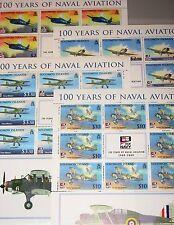 SOLOMON SALOMON ISL. 2009 1398-01 Flugzeuge 100 Ann Navy Aircrafts Planes MNH