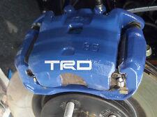 Toyota TRD De Pinza De Freno Calibrador Calcomanías Pegatinas MR2 GT86 Avensis Corolla
