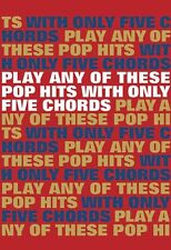 Play Pop Hits With Only 5 Chords Learn to EASY Guitar Lyrics Music Book