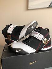 78d608e73c3 Nike Zoom Lebron V 5 Black White Varsity Crimson Red Size 9 Original Brand  New