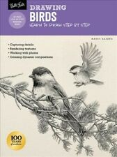 Drawing Birds : Learn to Draw Step by Step, Paperback by Aaseng, Maury, Like ...