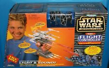 STAR WARS ACTION FLEET FLIGHT CONTROLLER W/DEATH STAR TRENCH X-WING FIGHTER MIB