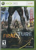 Xbox 360 Fracture With Manual As New