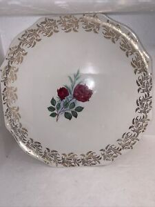 LORD NELSON POTTERY England Rose Platter 3-55
