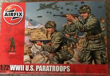 Airfix A01751 WWII U.S. Paratroops Military Figures x 48 1/72nd scale T48