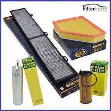 Inspektionspaket Filterset BMW 3er 320d 320xd E90 E91 E92 130kW 177PS SCT & MANN