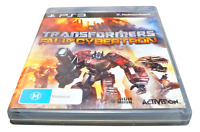 Transformers Fall Of Cybertron Sony PS3 PlayStation 3