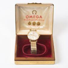 Omega Seamaster De Ville 14k Yellow Gold Men's Watch 1960s Deville Original Case
