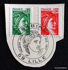 TIMBRE FRANCE OBL. 1° JOUR  Yt 1970 LES SABINES