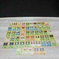 Pokemon Card Jungle Fossil Base 2 Set Common/Uncommon LOT Collection 55 Cards NM