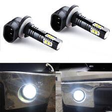 2 Pcs Durable 881 886 889 Car Fog Light White 6000K DRL Driving Lamp High Power