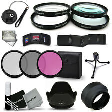 72mm Close-up MACRO Filters + 72mm Filter KIT + 72mm Lens Hoods f/ CANON Lenses