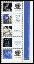 United Nations UN S35 Vienna 0.65 #464a, 2010 Personalized Stamps Strip of 5