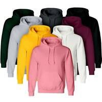 Womens Mens Hoodie Sweatshirt Pullover Hooded Solid Sports Causal Jumper Blouse